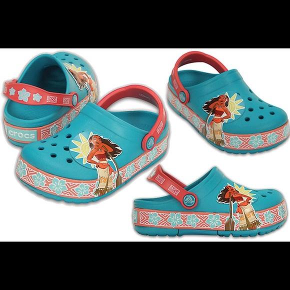 CROCS Shoes | Brand New Disney Moana